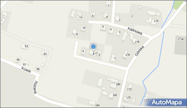 Wieprz, Jasna, 4, mapa Wieprz