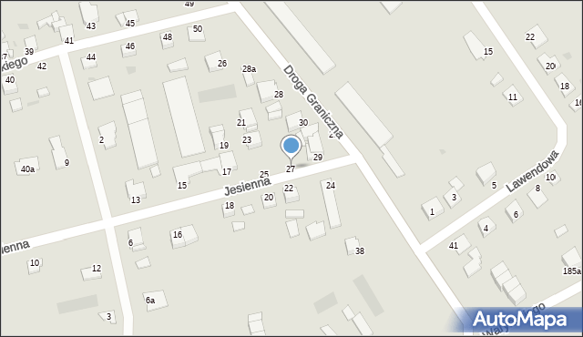 Grudziądz, Jesienna, 27, mapa Grudziądza