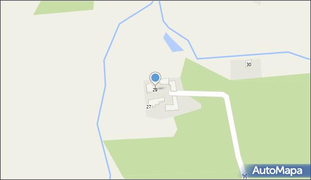 Łowiczki, Jodłowa, 29, mapa Łowiczki