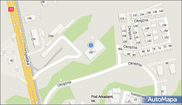 Chorzów, Katowicka, 152, mapa Chorzów