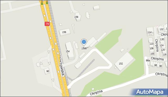Chorzów, Katowicka, 154b, mapa Chorzów