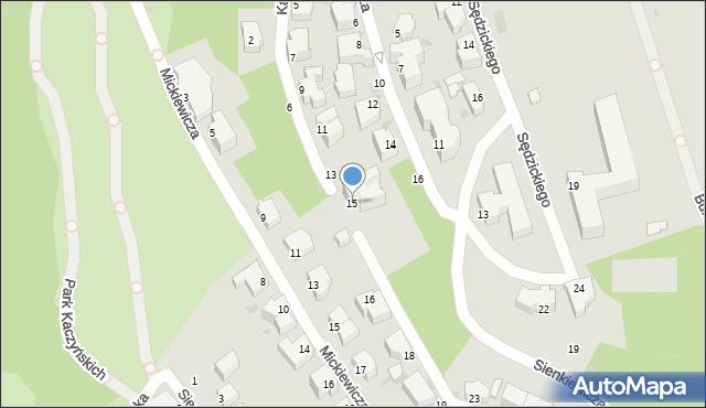 Gdynia, Kasprowicza Jana, 15, mapa Gdyni