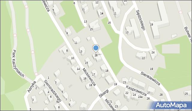 Gdynia, Kasprowicza Jana, 16, mapa Gdyni
