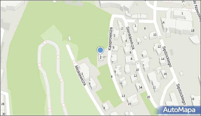 Gdynia, Kasprowicza Jana, 2, mapa Gdyni