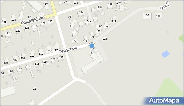 Grudziądz, Karabinierów, 37, mapa Grudziądza