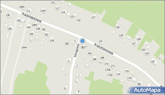 Jaworzno, Kasztanowa, 162, mapa Jaworzno