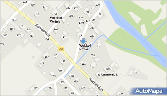 Kamienica, Kamienica, 84, mapa Kamienica
