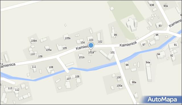 Kamienica, Kamienica, 101a, mapa Kamienica