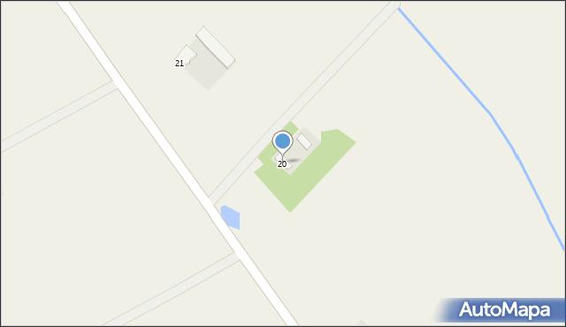 Kaniewo, Kaniewo, 20, mapa Kaniewo