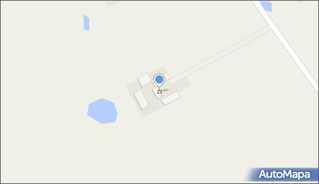 Kaniewo, Kaniewo, 23, mapa Kaniewo