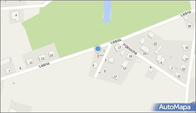 Kębłowo, Kasztelańska, 2, mapa Kębłowo