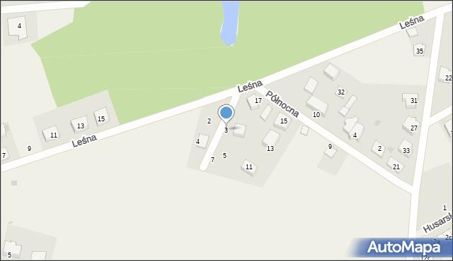 Kębłowo, Kasztelańska, 3, mapa Kębłowo