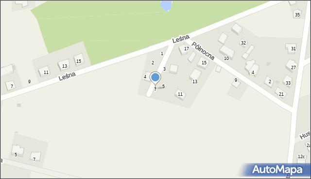 Kębłowo, Kasztelańska, 7, mapa Kębłowo