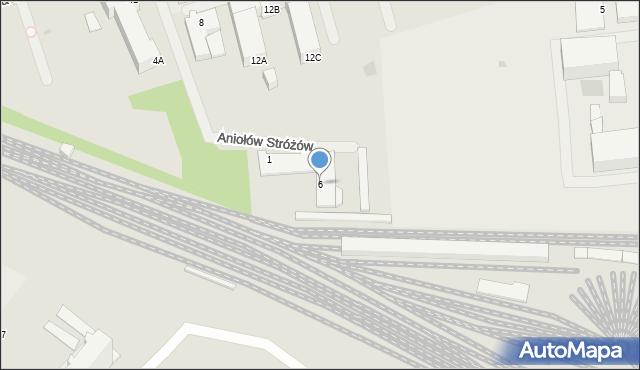 Kołobrzeg, Kasprowicza Jana, 6, mapa Kołobrzegu