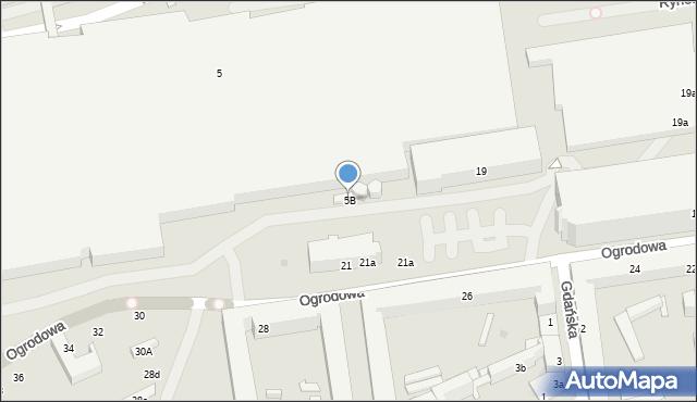 Łódź, Karskiego Jana, 5B, mapa Łodzi