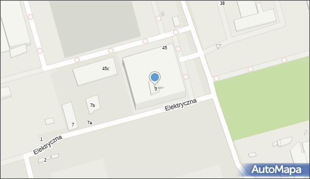 Marki, Kątowa, 3, mapa Marki