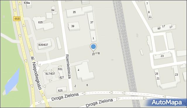Sopot, Kasztanowa, 10, mapa Sopotu