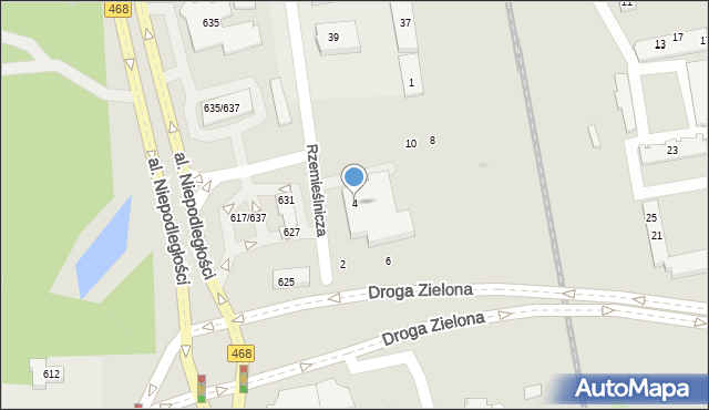 Sopot, Kasztanowa, 4, mapa Sopotu