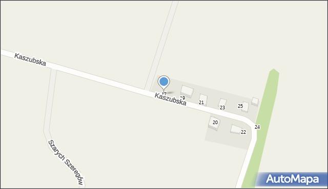 Sychowo, Kaszubska, 17, mapa Sychowo