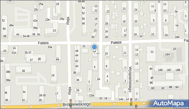 Toruń, Kasprowicza Jana, 9, mapa Torunia