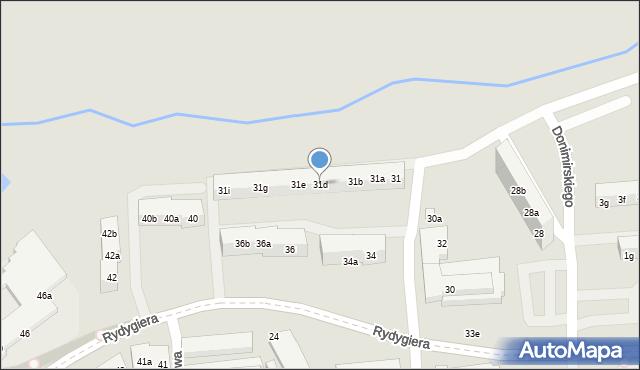 Toruń, Kasztanowa, 31d, mapa Torunia
