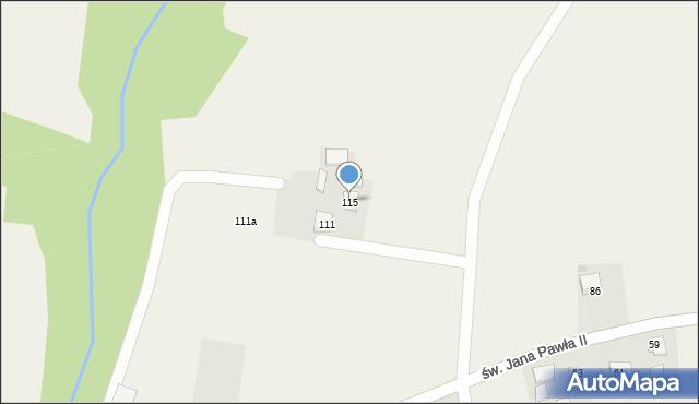 Witkowice, Kanada, 115, mapa Witkowice
