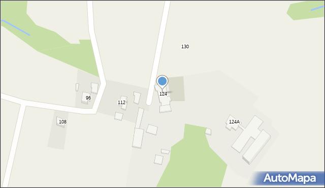 Witkowice, Kanada, 124, mapa Witkowice