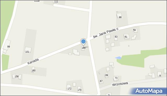 Witkowice, Kanada, 166, mapa Witkowice