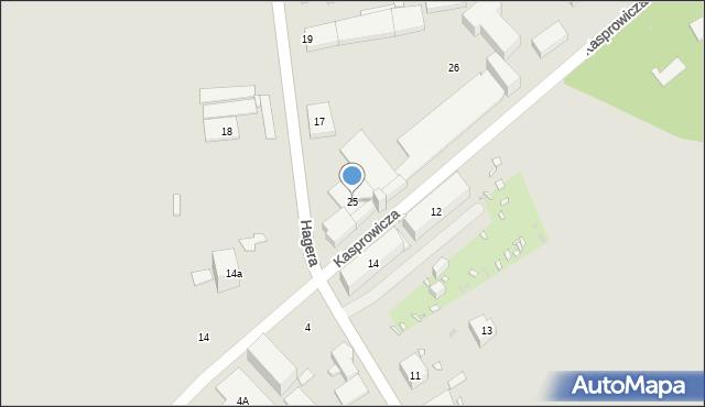 Zabrze, Kasprowicza Jana, 25, mapa Zabrza
