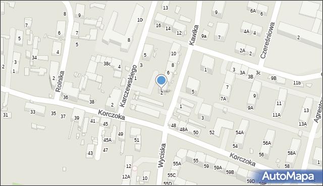 Zabrze, Kawika Adama, 2, mapa Zabrza