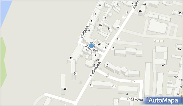 Grudziądz, Kępowa, 3, mapa Grudziądza