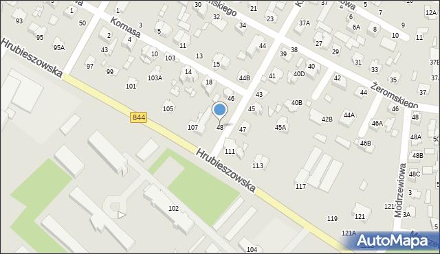 Chełm, Kilińskiego Jana, płk., 48, mapa Chełma
