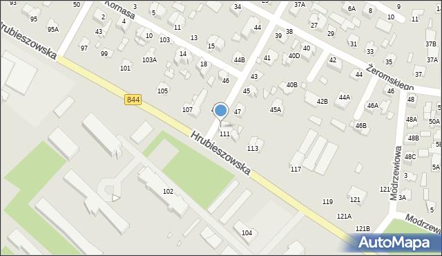 Chełm, Kilińskiego Jana, płk., 49, mapa Chełma