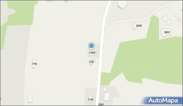 Kielnarowa, Kielnarowa, 378G, mapa Kielnarowa
