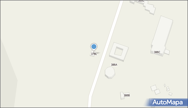Kielnarowa, Kielnarowa, 378L, mapa Kielnarowa