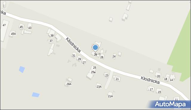 Ruda Śląska, Kłodnicka, 28, mapa Rudy Śląskiej