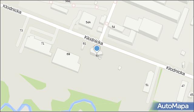 Ruda Śląska, Kłodnicka, 53, mapa Rudy Śląskiej