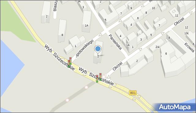 Warszawa, Kłopotowskiego Ignacego, ks., 2, mapa Warszawy