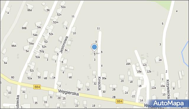 Przemyśl, Kmicica Andrzeja, 5, mapa Przemyśla