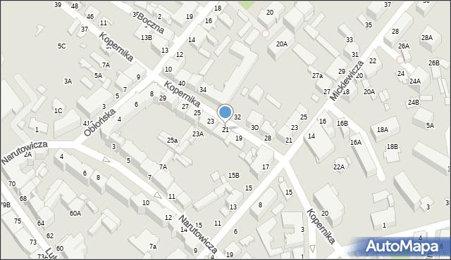 Chełm, Kopernika Mikołaja, 21, mapa Chełma