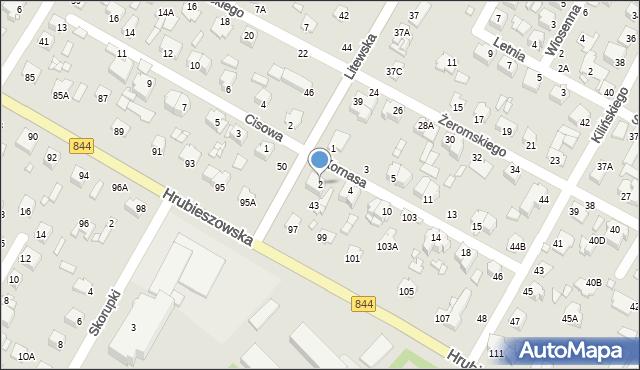 Chełm, Kornasa Eugeniusza, 2, mapa Chełma