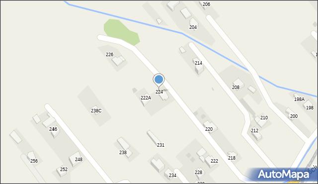 Chocznia, Kościuszki Tadeusza, gen., 224, mapa Chocznia