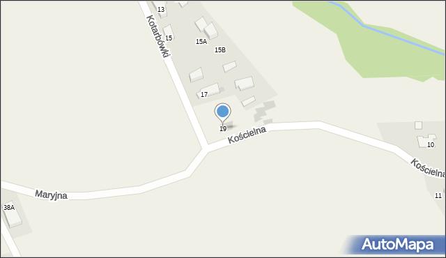Gaj, Kotarbówki, 19, mapa Gaj