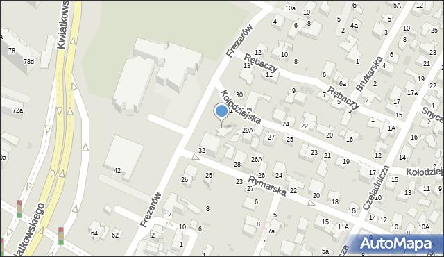 Gdynia, Kołodziejska, 31/2, mapa Gdyni