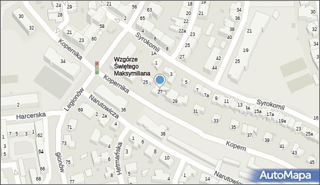 Gdynia, Kopernika Mikołaja, 27, mapa Gdyni