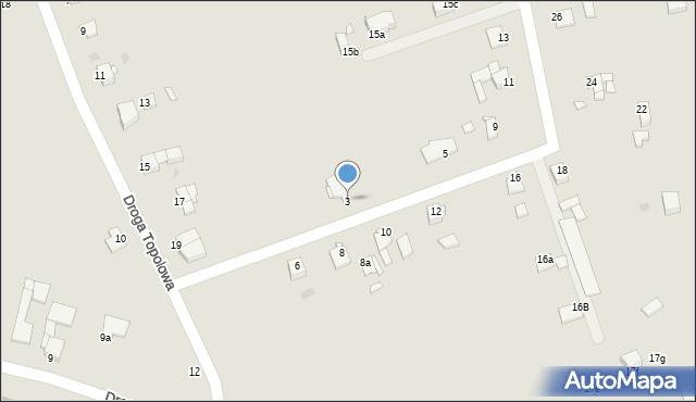Grudziądz, Kociewska, 3, mapa Grudziądza