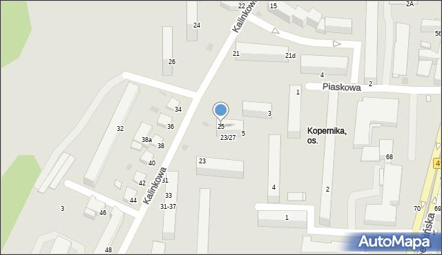 Grudziądz, Kopernika Mikołaja, 25, mapa Grudziądza