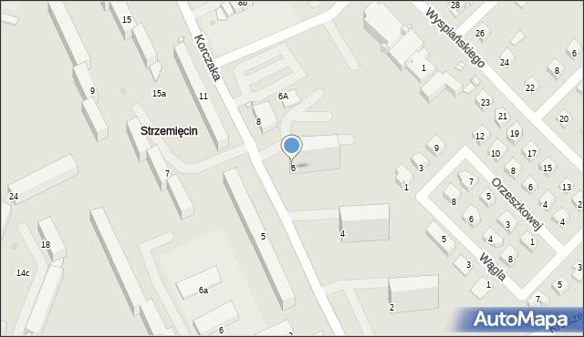 Grudziądz, Korczaka Janusza, 6, mapa Grudziądza
