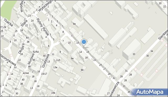 Grudziądz, Kosynierów Gdyńskich, 17, mapa Grudziądza