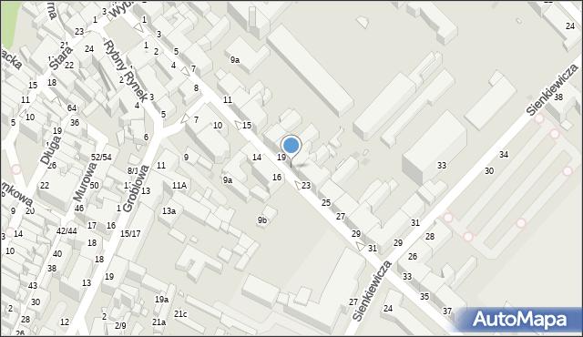 Grudziądz, Kosynierów Gdyńskich, 21, mapa Grudziądza